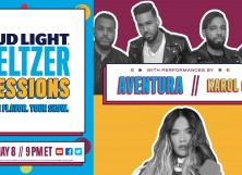 Seltzer Sessions w Aventura and KAROL G