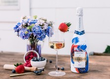 Chandon Brut American Summer Cocktail Berry Bubbly