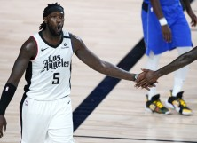 Montrezl Harrell #5 of the Los Angeles Clippers