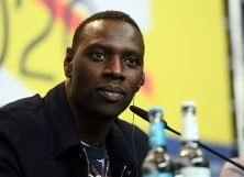"Omar Sy is seen at the ""Police"" (Night Shift) press conference"