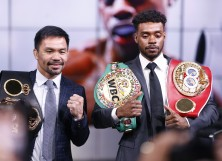 Manny Pacquiao and Errol Spence Jr