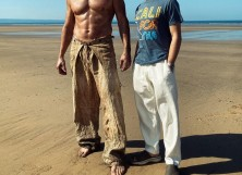 """Patrick Wilson with James Want for """"Aquaman 2"""""""