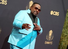 Cedric the Entertainer at the 73rd Primetime Emmy Awards