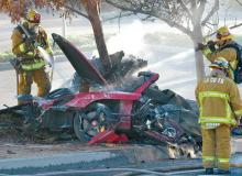 paul walker car crash