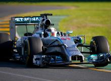 Mercedes Australian F1 Grand Prix in Melbourne