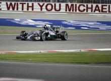 Rosberg dominates at Bahrain.