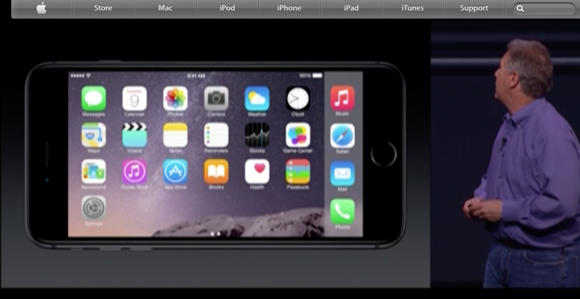 iPhone 6 Display In Landscape!