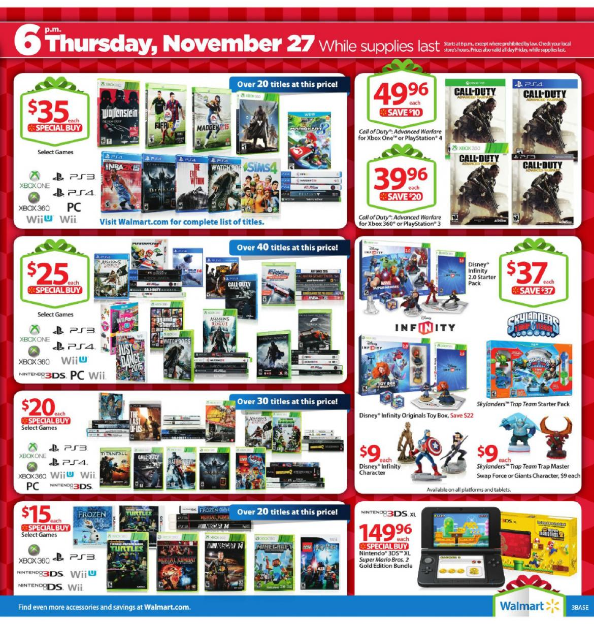 Walmart black friday 2014 sales ad walmart