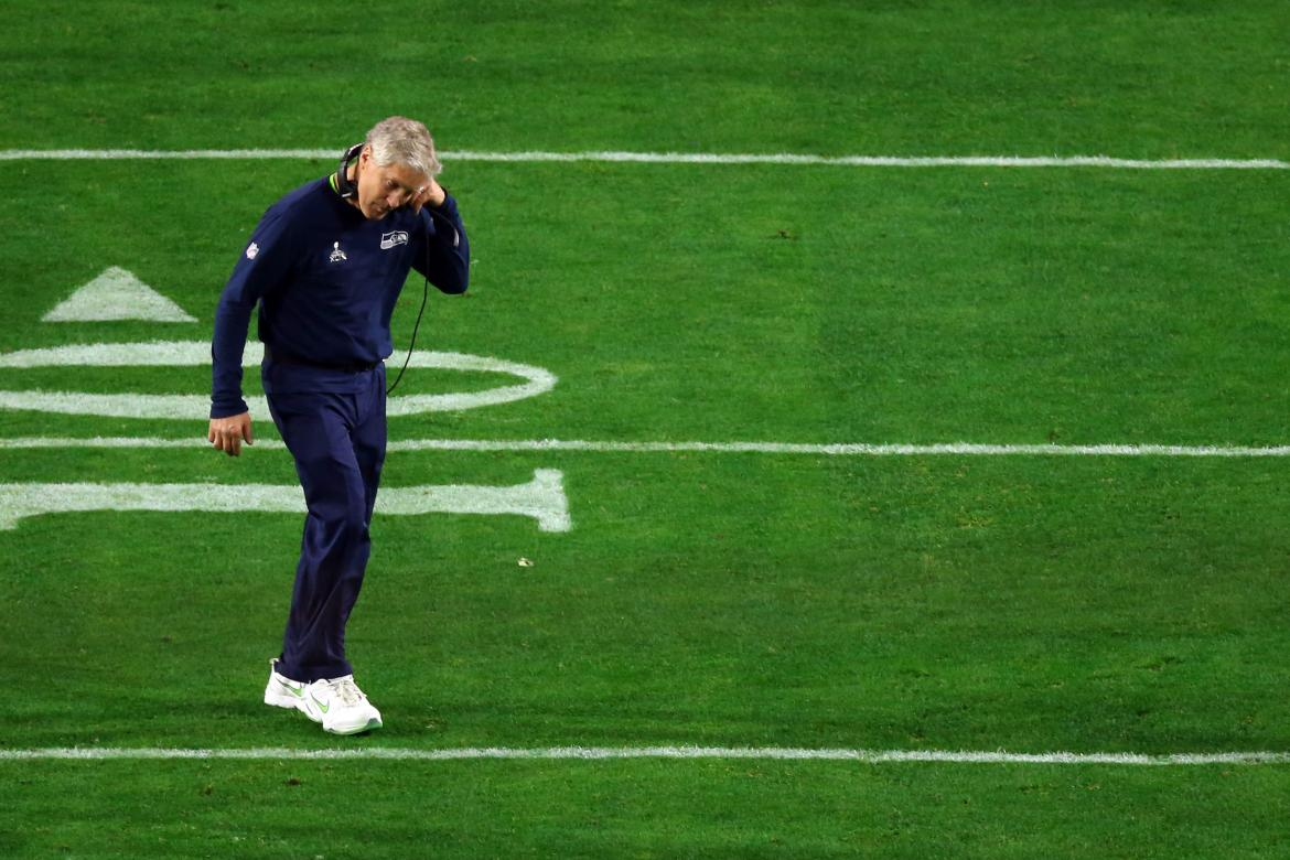 Pete Carroll - The Look Of Defeat