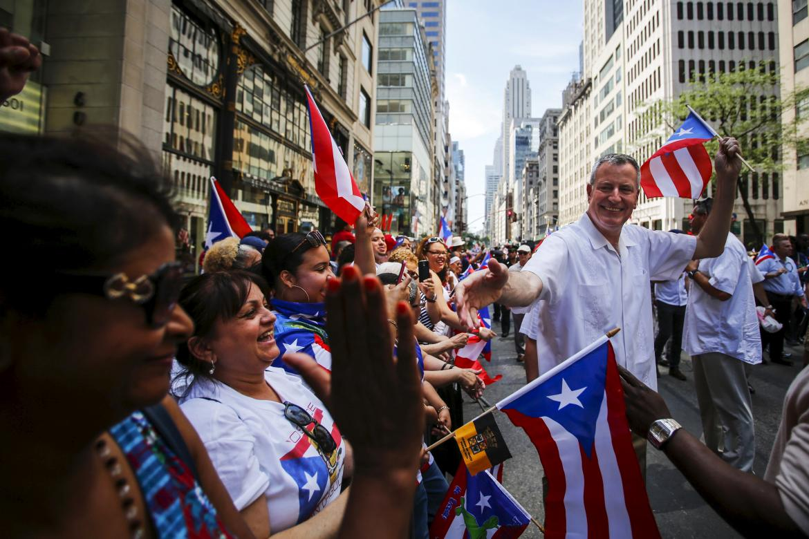 Puerto rican parade New York