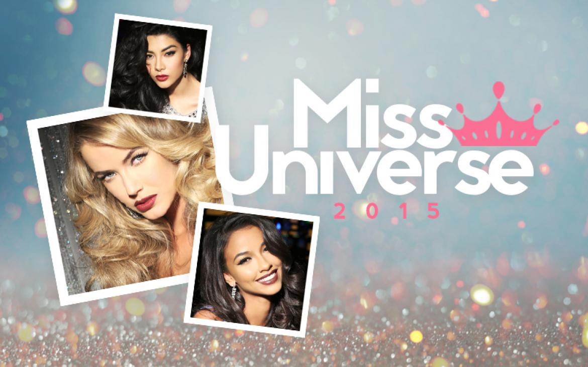 Miss Universe 2015 Contestant Photos