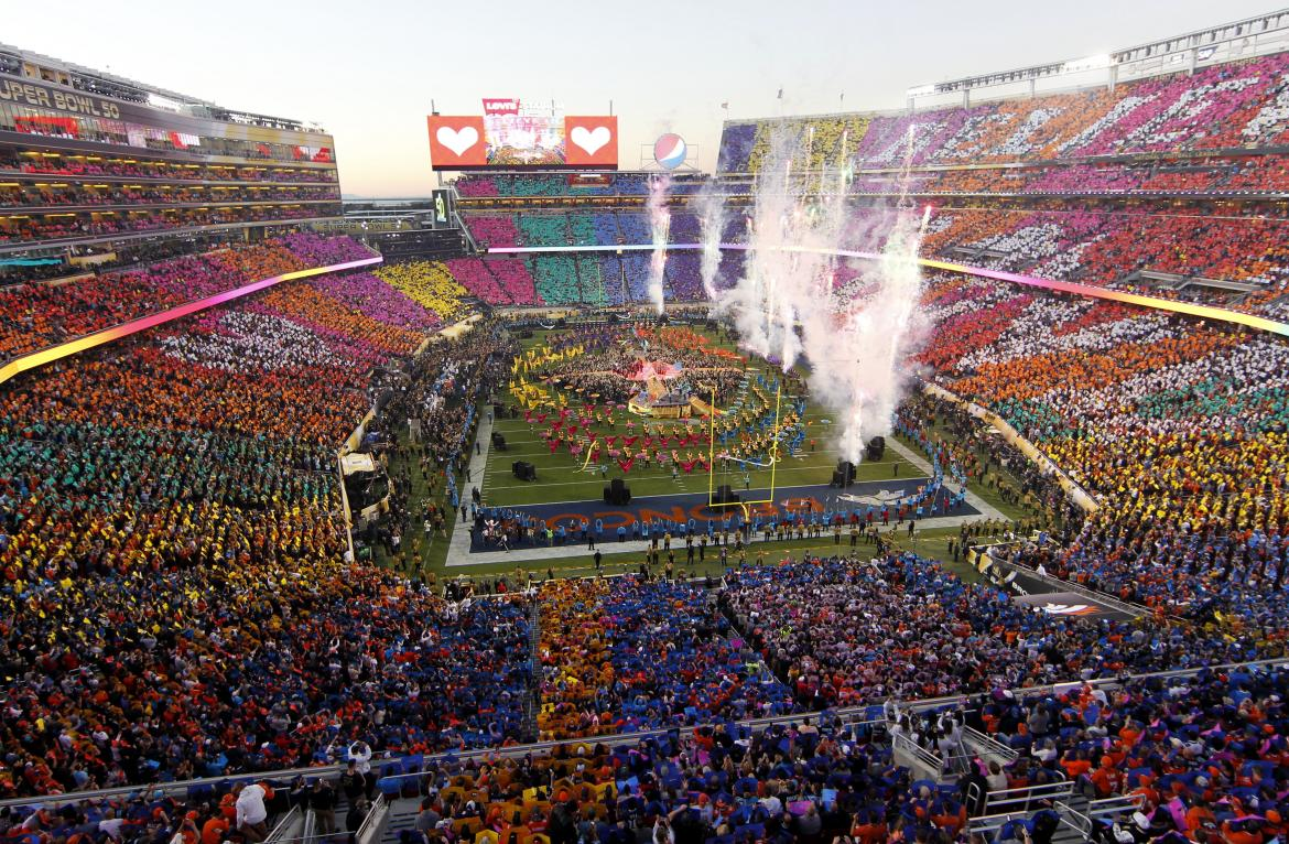 Halftime Show is Full of Color in Santa Clara