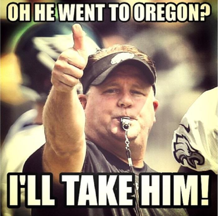 He is gon  have as many Oregon  Eagles Lose Meme