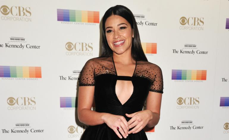 Actress Gina Rodriguez arrives at the 38th Annual Kennedy Center ...