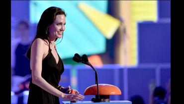 Angelina Joe at Kids Choice Awards 2015
