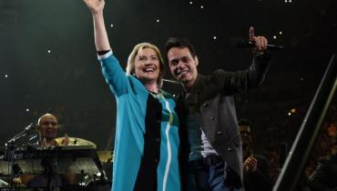 Hillary Clinton, Marc Anthony