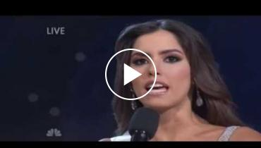 Say What? Miss Universe 2015 Top 5 Finalists Answer Judges Questions!