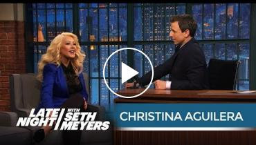 Christina Aguilera Does A Perfect Samantha From 'Sex And The City' Impression