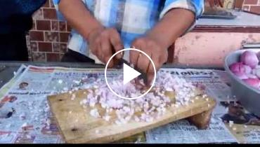 This Indian Man's Chopping Skills Are The Envy Of Every Taquero!