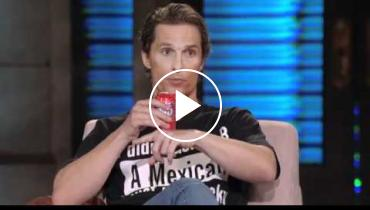 Matthew McConaughey Professes Love For Latinas And Mexico On 'Lopez Tonight'!