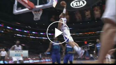 'Look Out Below!' Watch Clippers Forward Blake Griffin Take Flight