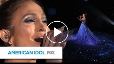 You Won't Believe What Happened To Jennifer Lopez's Dress On 'American Idol'