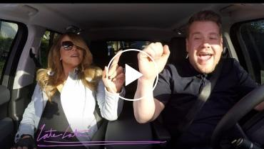 Mariah Carey Karaokes To Her Own Songs With James Corden!