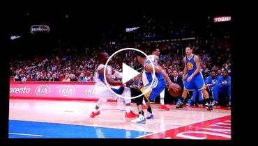 Steph Curry Breaks Both Chris Paul's Ankles With Crippling Crossover!