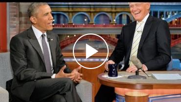 President Obama Shares Retirement Plans With David Letterman!
