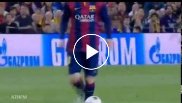Lionel Messi Is Masterful As He Breaks Jerome Boateng's Ankles On This Marvelous Goal