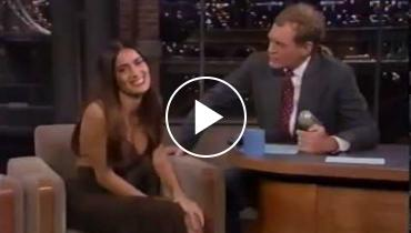 Did David Letterman Have A Thing For Salma Hayek? Check Out Her Many Appearances!