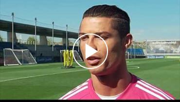 Watch Cristiano Ronaldo Say Goodbye To Steven Gerrard As He Heads To LA Galaxy