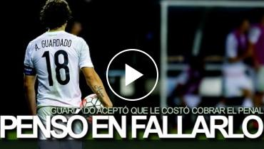 Andrés Guardado Thought About Not Scoring Controversial Mexico Vs. Panama Penalty During Gold Cup 2015