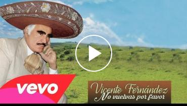 Vicente Fernandez Makes Comeback With 'No Vuelvas Por Favor' And Films Q&A In His Ranch
