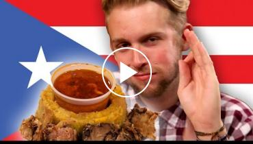 Watch People Try Puerto Rican Food For The First Time