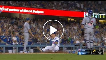 Cubs Vs. Dodgers Highlights 8.28.15: Kerhsaw K's 14 Batters in 4-1 Win [VIDEO]