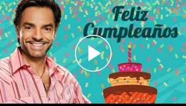 Eugenio Derbez Gets Sweet Birthday Surprise From All His Loved Ones And Fans