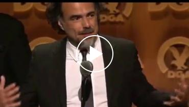 Watch Alejandro González Iñárritu's Tearful DGA Awards Acceptance Speech