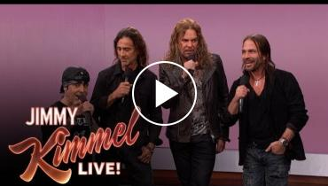 Maná, Jimmy Kimmel Covering The Muppet Show's 'Mahna Mahna' Is Funniest Thing Ever!