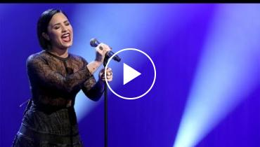 Watch Demi Lovato Powerfully Perform 'Stone Cold' On 'The Ellen Show'