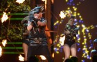 Wisin Performing at Premio Lo Nuestro